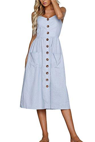 44 Paisley Kleid Weiß Miss Floral Style-t Damen