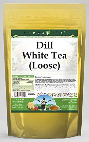 Dill White Tea (Loose) (8 oz, ZIN: 532445) - 3 Pack by TerraVita (Image #1)