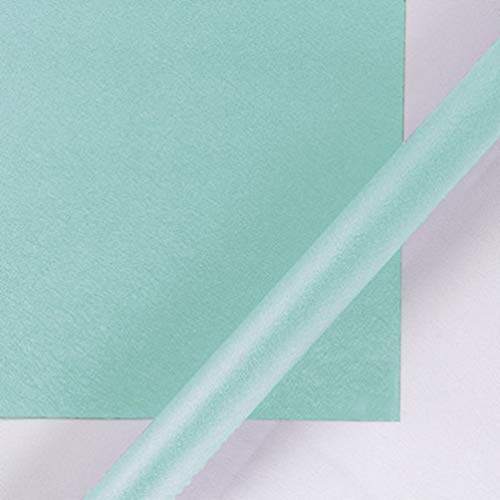 10 Sheets Luxurious Gift Wrapping Paper for Birthday, Holiday, Wedding, Baby Shower, DIY Handmade Gift Box Gift Packaging Paper 20.5 inch X 29.5 inch (Tiffany Blue)