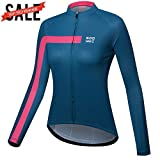 NOOYME Women's Wicking Cycling Jersey with Three Back...