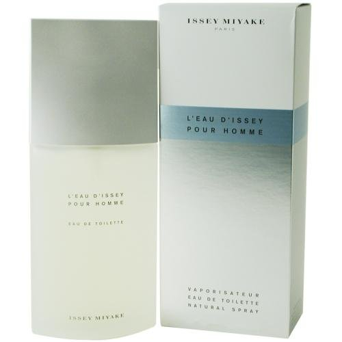 Issey Miyake L'eau D'Issey Pour Homme, EDT Spray for Men, 4.2 Ounce