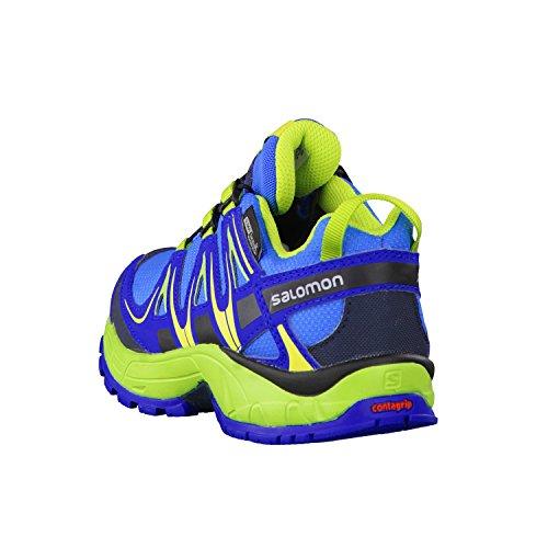 ... Salomon Unisex-Kinder Xa Pro 3d Cswp Trekking-& Wanderhalbschuhe union  blue/blue ...