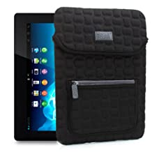 FlexARMOR X Protection Padded Neoprene Tablet Sleeve Carrying Case Cover for Sony Xperia Tablet S - SGPT121US/S , SGPT123US/S - By USA Gear!
