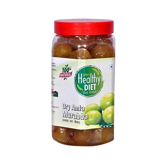 Healthy Diet Homemade Organic Dry Amla Murabba - 900gm