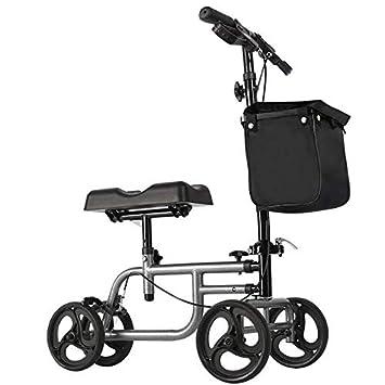 Andador de Rodilla - Scooter orientable para Pierna Rota, Lesiones ...