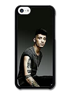 MMZ DIY PHONE CASEAMAF ? Accessories Zayn Malik Black T-Shirt 1D One Direction case for iphone 6 plus 5.5 inch