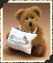 Greeting Card Boyds - Boyds Bear Miss Caresforall Daycare Extraordinaire