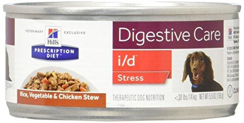 (Hill's Prescription Diet I/D Canine - Stress - Rice/Vegetable/Chicken Stew - 5.5 oz - 24 ct)