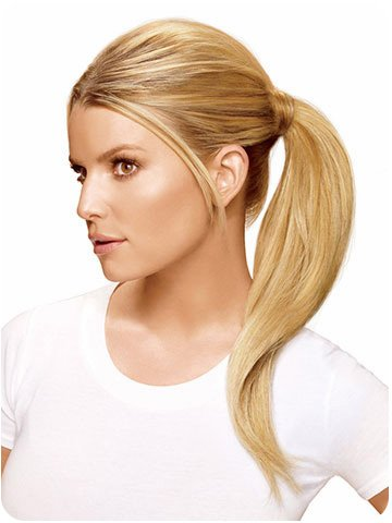 Hairstyle Wrap Around Pony Jessica Simpson R21t Sandy Blonde