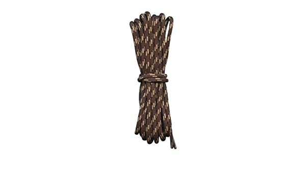 c0a57a266d921 Hiking Boot Laces- Brown with Cream flecks - 3/16