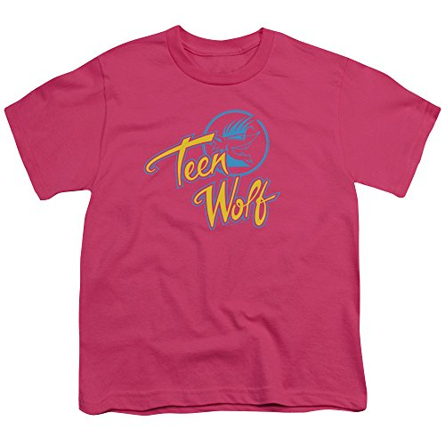 Boys Pink Teen Wolf Classic Logo Youth