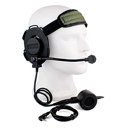 Buwico® HD01 Z Tactical Bowman Elite II 2 Pin Headset with