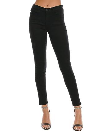 42603af678c Flying Monkey ShopPiin Classic Black Denim Skinny Jeans at Amazon ...