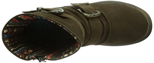 Blowfish Octave - Botas con forro para mujer Dark Brown