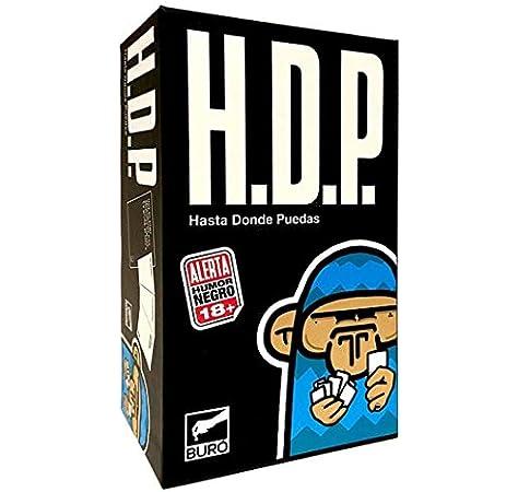 BURO HDP - Juego de Cartas [Castellano]: Amazon.es: Juguetes y juegos
