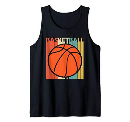 Vintage Basketball Ball shirt - Basketball Player Gift Tank Top