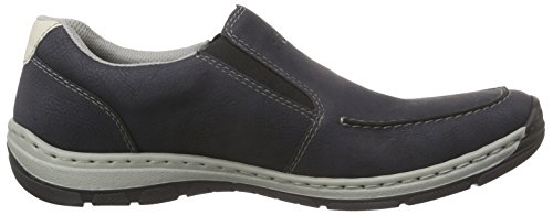 Men Mocassins Loafers Rieker amp; Navy 15260 Ozean Chalk Mocasines Hombre Azul qxTC4BSawC