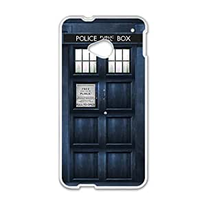 Police Box White htc m7 case