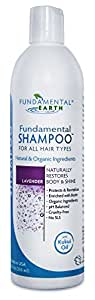 Fundamental Shampoo - 12 Oz. - Chemical Free Shampoo - SLS Free - Natural Shampoo - Made in USA by Fundamental Earth