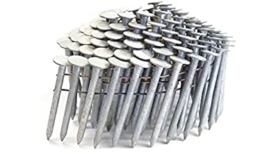 """2"""" SMOOTH A153-D HOT DIP COIL ROOFING NAILS 3.6M Box from NailPro"""