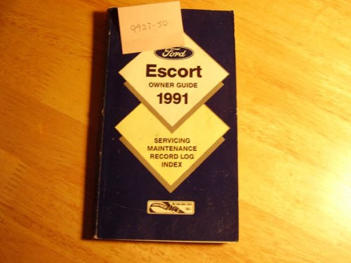 1991 Ford Escort Owners Manual