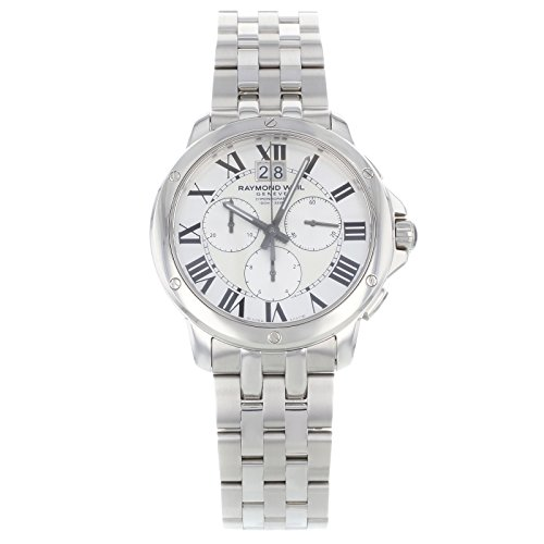 Raymond-Weil-Mens-4891-ST-00650-Analog-Display-Swiss-Quartz-Silver-Watch