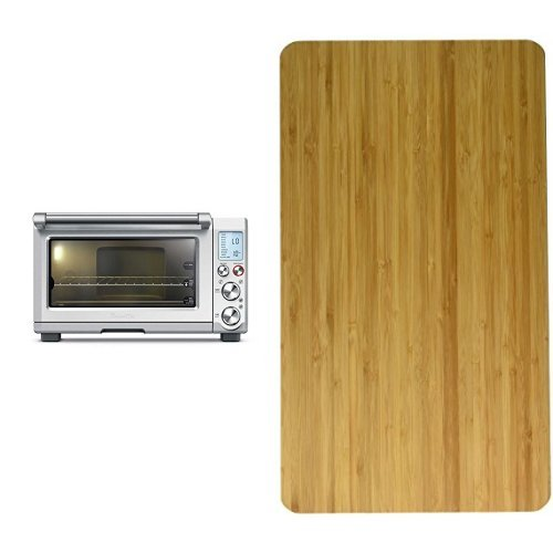 Breville BOV845BSS Smart Oven Pro Convection Toaster Oven with Element IQ, 1800 W, Stainless Steel and Breville BOV800CB Bamboo Cutting Board for Use with the BOV800XL Smart Oven Bundle