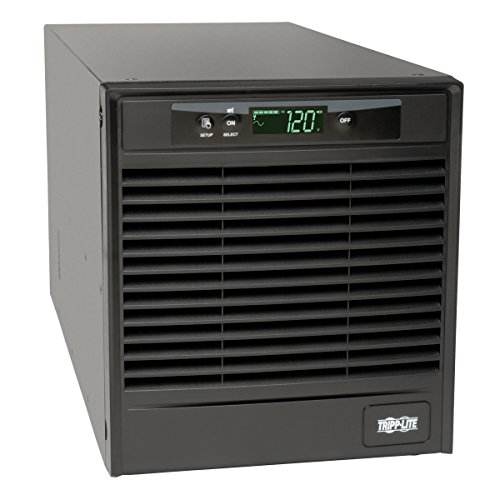 Tripp Lite SmartOnline 120V 2.2kVA 1.8kW Double-Conversion UPS, Tower, Extended Run, Network Management Card Slot, LCD, USB, DB9, 2 Year Warranty & $250,000 Insurance (SU2200XLCD)