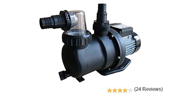 Gre PP076 - Bomba de filtración para Piscina, 550 W, 9.500 l/h: Amazon.es: Jardín