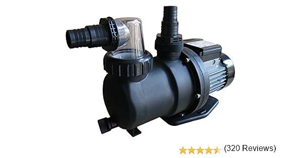 Gre PP076 - Bomba de filtración para Piscina, 450 W, 9.5 m3/h ...