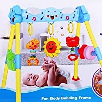 Clever Baby Body Building Frame - Play Gym for New Born Baby (Large)