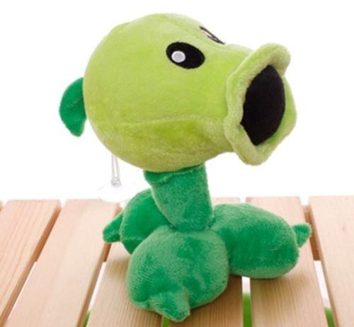 (Plants Vs Zombies 2 PVZ Figures Plush Baby Staff Toy Stuffed Soft Doll (Peashooter))