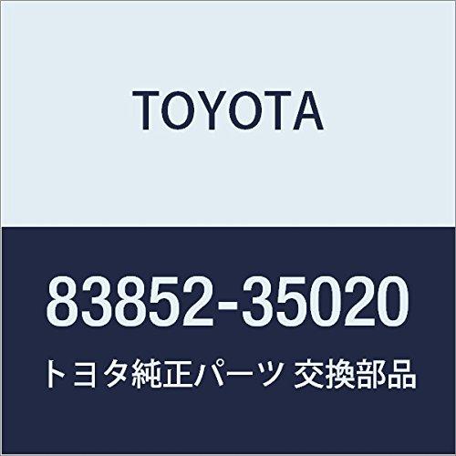 Toyota 83852-35020 Speedometer Glass