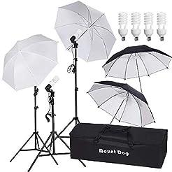 MOUNTDOG 800W Photography Umbrella Conti...