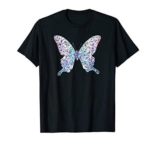 Rave Shops Clothes (Rave Clothing Butterfly T-shirt EDM Festival Tee)