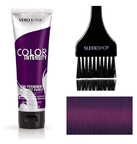 Joico Color Intensity Semi-Permanent Creme Hair Color (with Sleek Tint-Brush) (Amethyst Purple)
