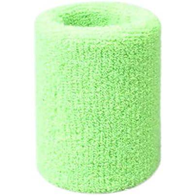Doreleven Cotton Wristbands Wrist Band Bands Sweatbands Sweat Band for Sport Tennis 5x8cm Estimated Price £0.01 -