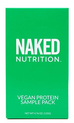 Naked Nutrition Vegan Sample Pack - Naked Pea, Chocolate Less Naked Pea, Vanilla Less Naked Pea, and Naked Rice