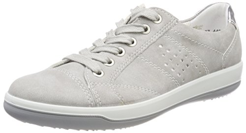 Miami Sneakers Silber Femme Basses Gris pebble Jenny Pq4Bxq