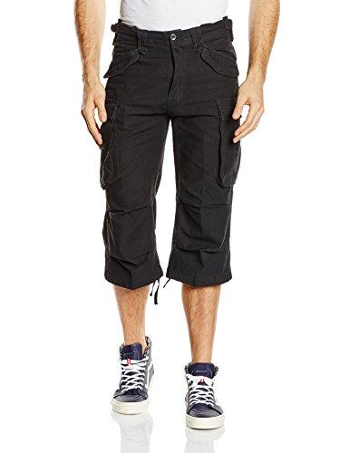 Brandit Men's Industry Vintage 3/4 Shorts Black