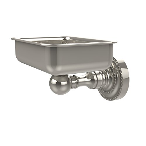 - Allied Brass DT-32-PNI Dottingham Collection Wall Mounted Soap Dish, Polished Nickel