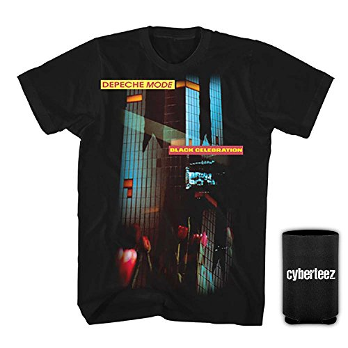Depeche Mode Black Celebration Men's T-Shirt + Coolie