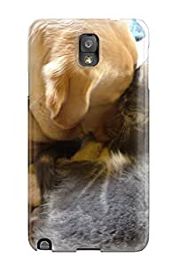 Christopher B. Kennedy's Shop Best Galaxy High Quality Tpu Case/ Cat And Dog Case Cover For Galaxy Note 3 1338973K36987269