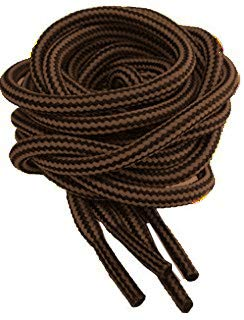 30e10c39edc Brown Strong Bootlaces 120cm 140cm Long For Work Boots
