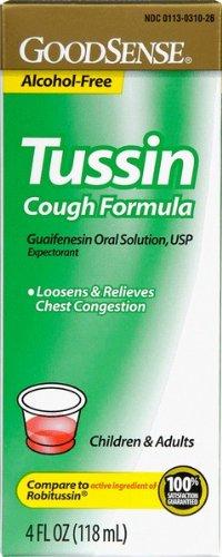 Good Sense Tussin C/S Cough Suppression Case Pack 48