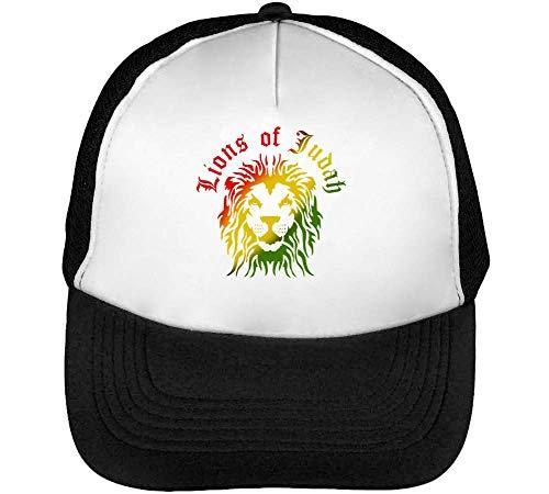 Rastafari Snapback Beisbol Blanco Coloured Negro Judah Hombre Of Lions Gorras TPBqZw