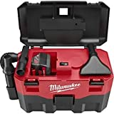 Milwaukee (MLW088020) 18V Cordless Wet/Dry Vacuum - Works with Any MLW 18V Slide-On Battery