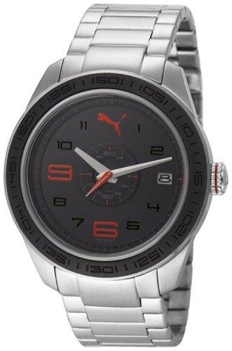 Puma Slice - L Metal Silver Men's watch #PU102971001