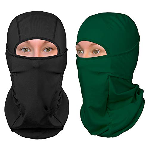 (The Friendly Swede Balaclava Face Mask - Ski and Winter Sports Headwear, Neck Gaiter and Motorcycle Helmet Liner (Standard/Nordic/Arctic) - [1-Pack or 2-Pack])