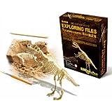 【気分は考古学者! 】ティラノ ザウルス 骨格 標本 化石 発掘 キット t-rex 恐竜